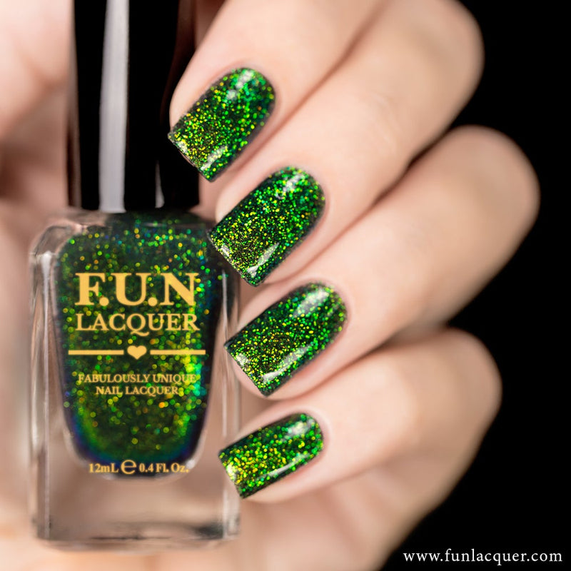 Magical Color Shifting Glitter Nail Polish
