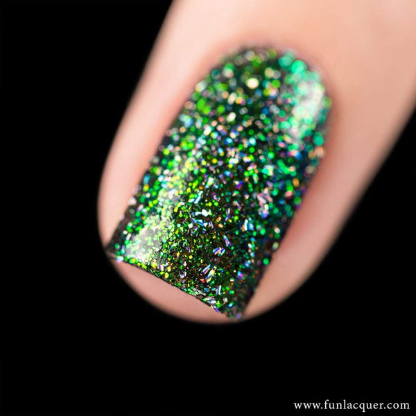 Magical (H) Green Color Shifting Holographic Nail Polish