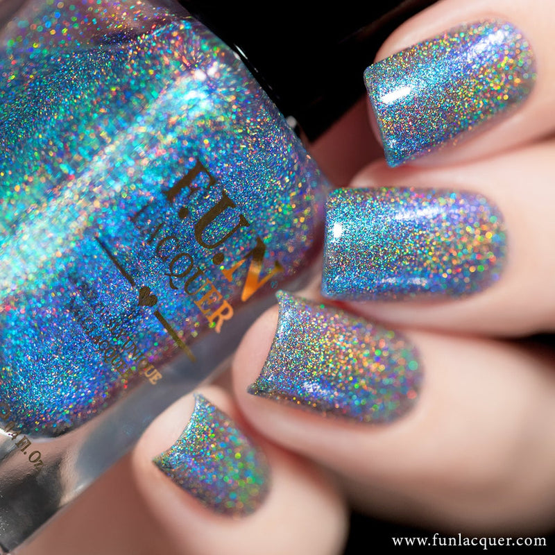 Magician Blue Color Shifting Holographic Nail Polish