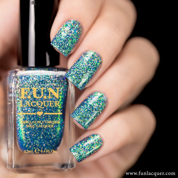 Northern Lights (H) Color Shifting Holo Nail Polish