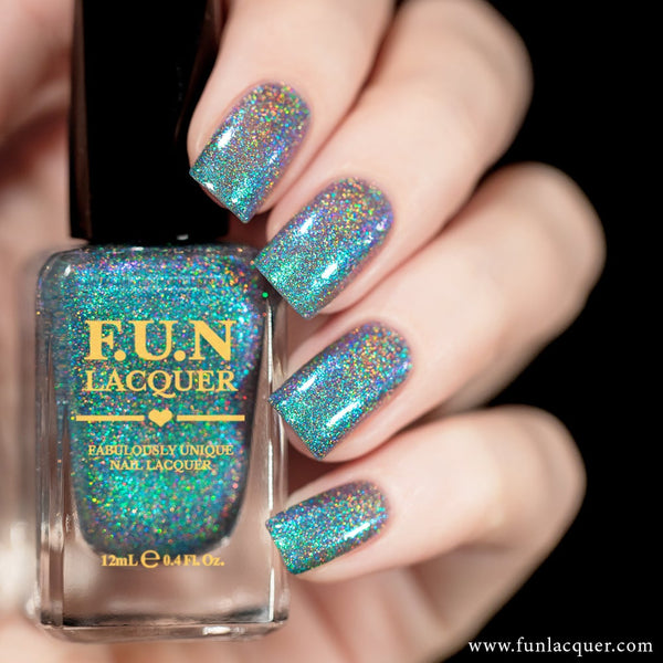 Peacock Color Shifting Holographic Nail Polish