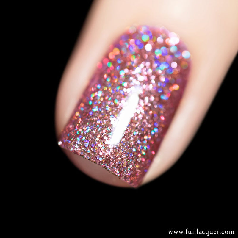 Pinky Promise Holographic Glitter Nail