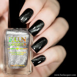 Platinum Diamond Magnetic Nail Polish