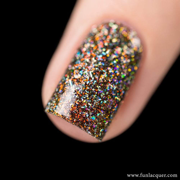 Red Velvet (H) Color Shifting Holographic Nail Polish