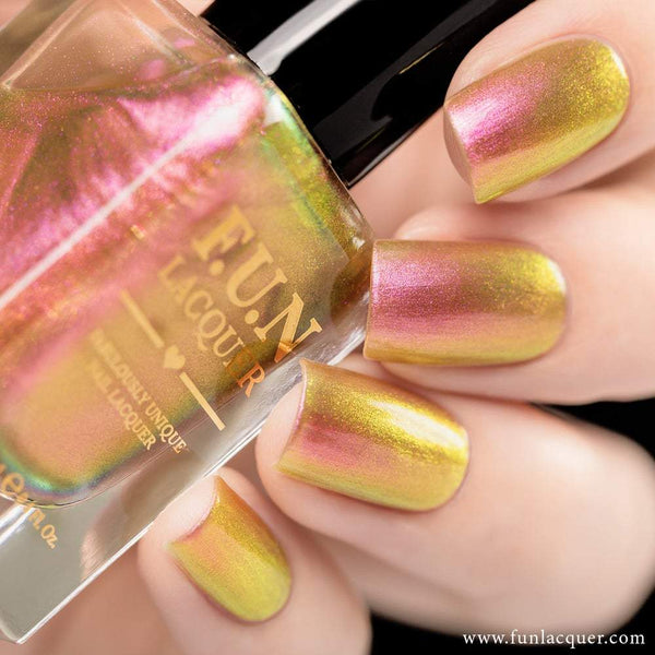 Sakura Pink Color Shifting Iridescent Nail Polish