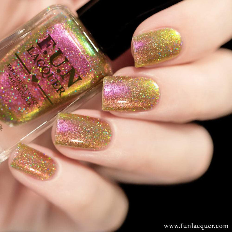 Sakura (H) Best Pink Color Shifting Holographic Nail Polish