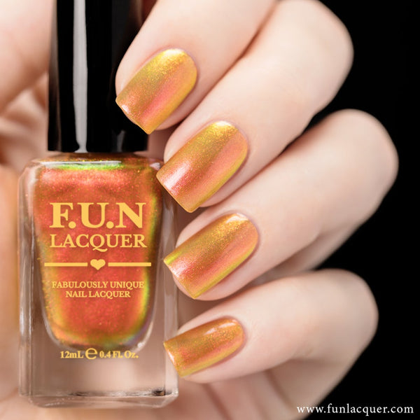 Sunset Color Shifting Iridescent Nail Polish