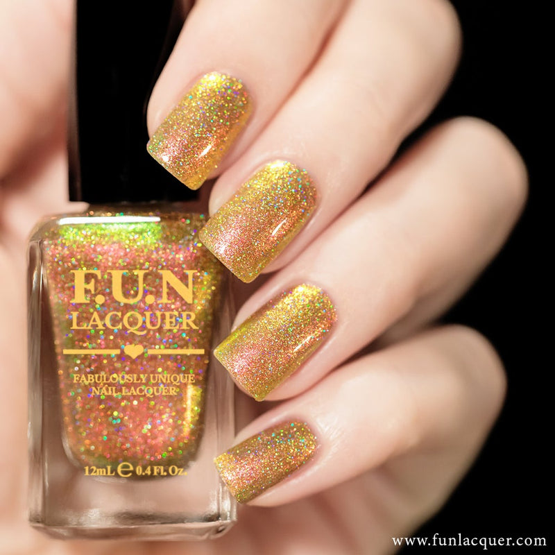 Sunset (H) Color Shifting Holographic Nail Polish