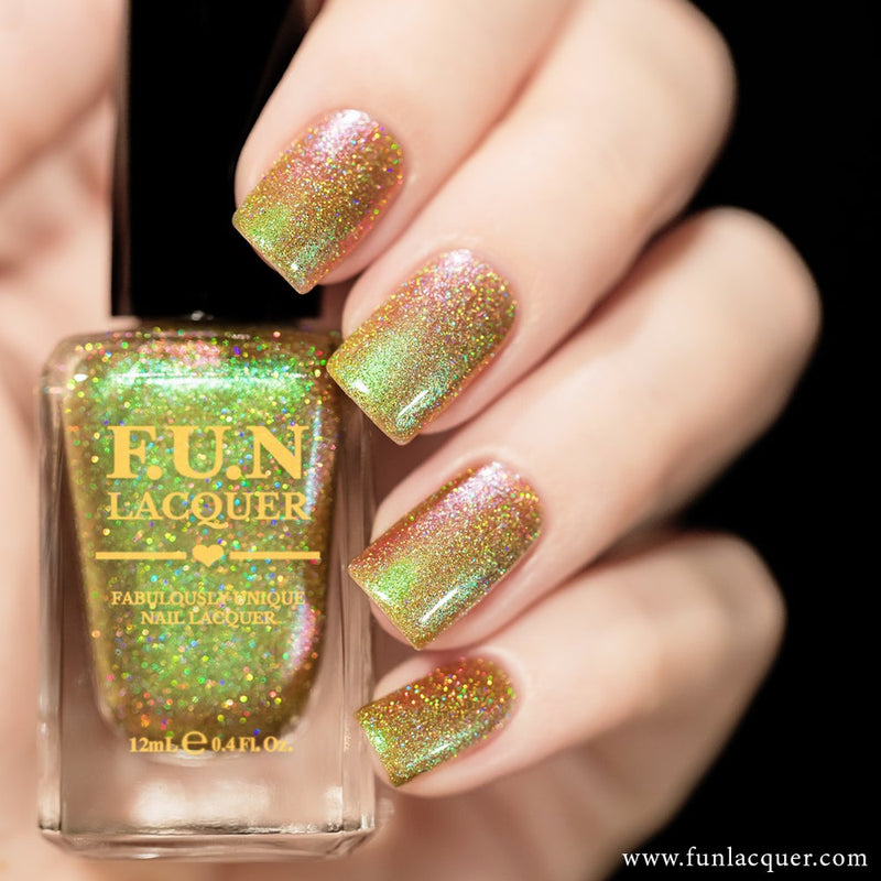Uniphant (H) Color Shifting Holographic Nail Polish