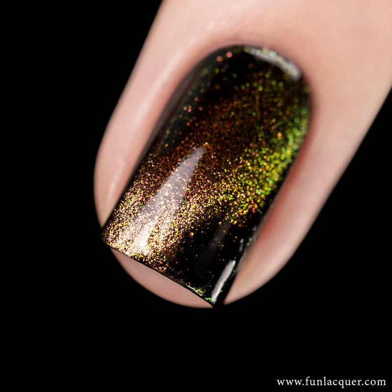 Obsessed Multichrome Magnetic Galaxy Nail Polish