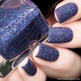 Rendezvous Midnight Blue Holo Glitter Nail Polish