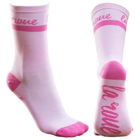 Medias Unisex - Rose Chaud - Retro