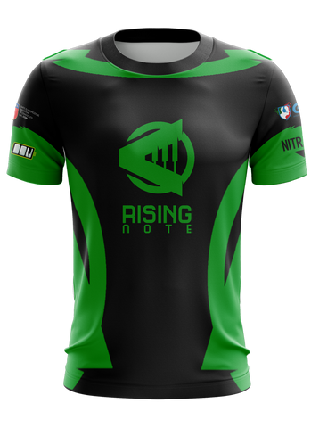 Rising Note Academy Green Jersey
