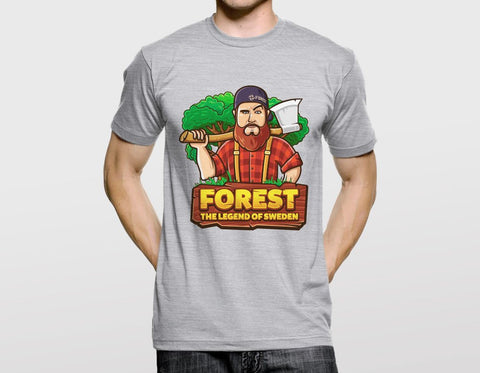 FOREST THE LEGEND OF SWEDEN T-SHIRT (CS:GO DOPE SERIES 1)