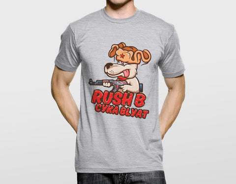 RUSH B CYKA BLYAT T-SHIRT (CS:GO DOPE SERIES 1)
