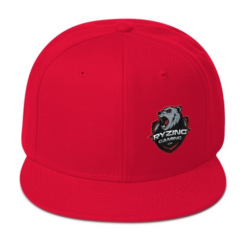 Ryzing Gaming Snapback Hat Side Logo US