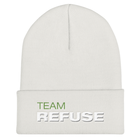 Team Refuse Cuffed Beanie