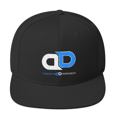 Different Dimension Snapback Hat