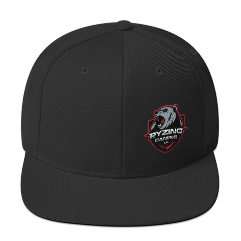 Ryzing Gaming Snapback Hat Side Logo