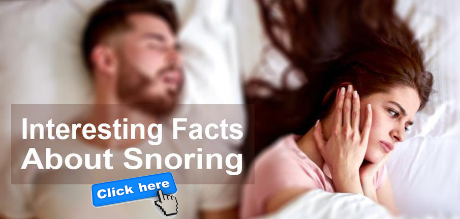 Interesting facts about snoring.