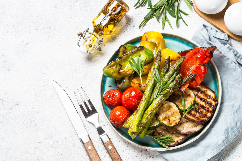 Marinated BBQ Vegetables