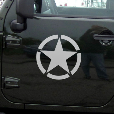 Five-pointed Star Vinyl Sticker - Direct Discount Outlet