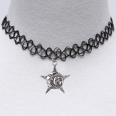 Vintage Stretch Choker Necklace - Direct Discount Outlet