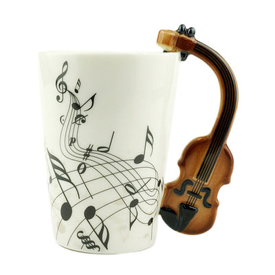 Musical Instrument Mug - Direct Discount Outlet