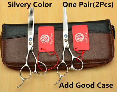Left Hand 6.0'' Professional Shears & Thinning Scissors - Direct Discount Outlet