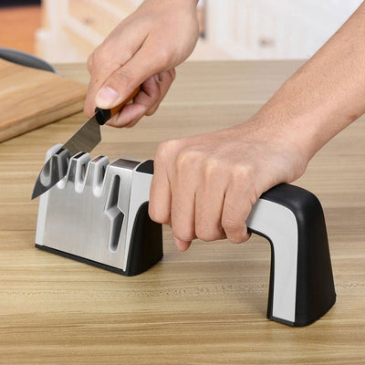 Multifunction Knife and Scissors Sharpener - Direct Discount Outlet