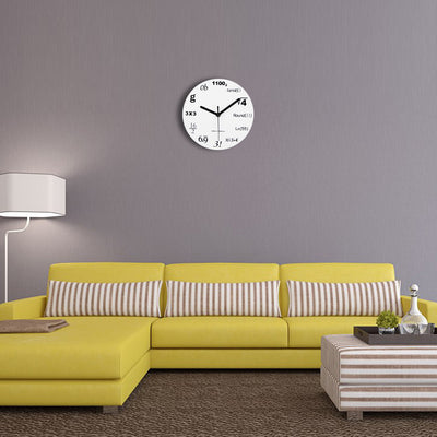 Maths Equation Wall Clock - Direct Discount Outlet