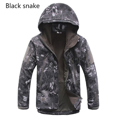 Brand Jacket V5.0 Military Tactical Men Jacket Lurker Shark Skin Soft Shell Waterproof Windproof Men windbreaker Jacket Coat - Direct Discount Outlet