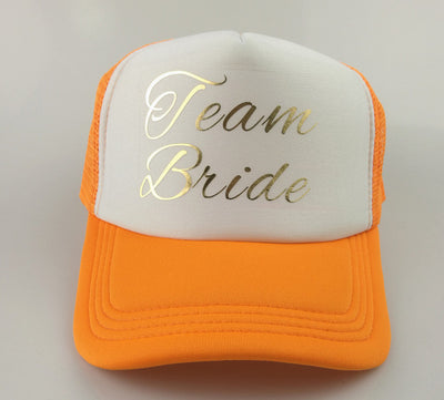 BRIDE TEAM Caps - Direct Discount Outlet