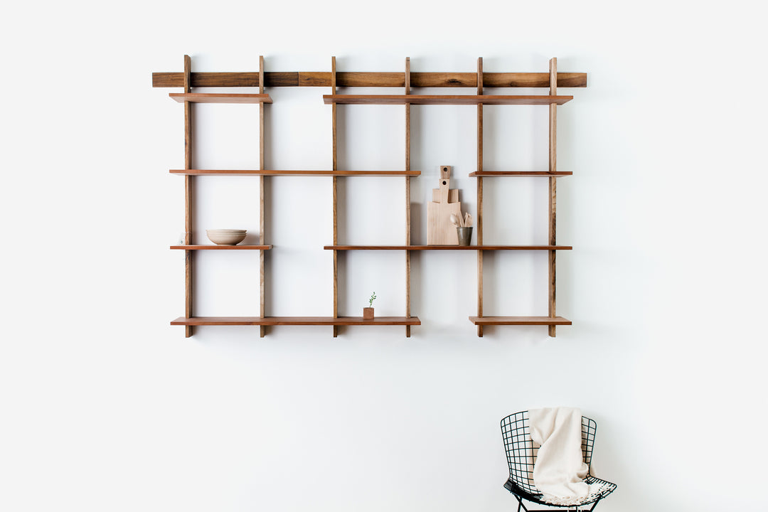 BUNDLE 1 (Kit B + Kit D) Sticotti Modular Shelving System