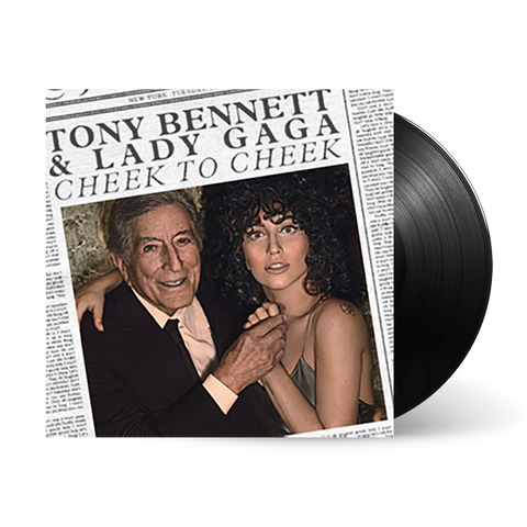 CHEEK TO CHEEK (TONY BENNETT & LADY GAGA) LP VINYL
