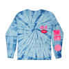 LG6 STUPID LOVE L/S TIE DYE T-SHIRT