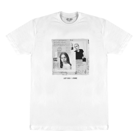 B&W PHOTO COLLAGE T SHIRT
