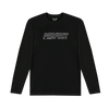 PERFECT ILLUSION BLACK ATHLETIC LONG SLEEVE T SHIRT
