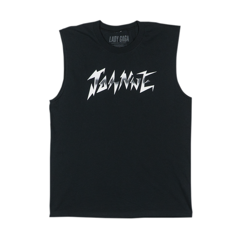 JOANNE WORLD TOUR BLACK MUSCLE TANK