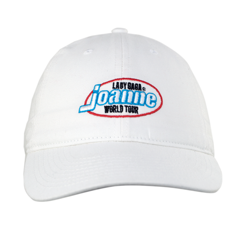 JOANNE WORLD TOUR WHITE DAD HAT