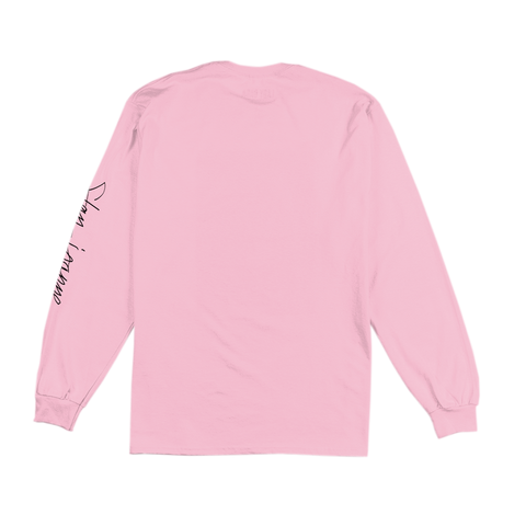 HORNS PINK LONG SLEEVE T-SHIRT