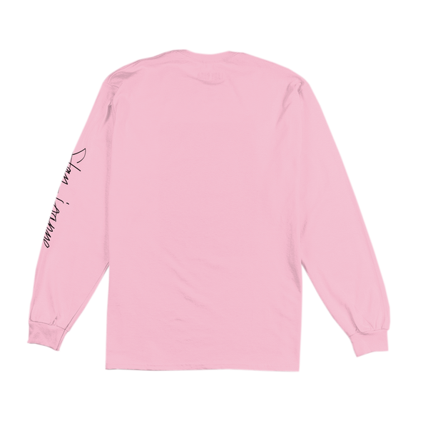 Horns pink long sleeve t shirt lady gaga official shop for What is a long sleeve t shirt