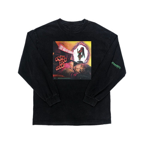 RAIN ON ME COVER L/S T-SHIRT + DIGITAL ALBUM