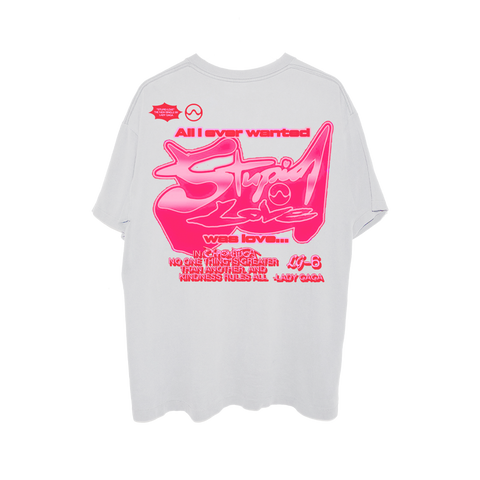 LG6 STUPID LOVE T-SHIRT + DIGITAL ALBUM