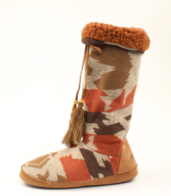 M&F Western Brooklyn Slip On Slipper Boots