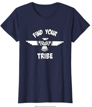 Cowgirl Kim Tribal Thunderbird Find Your Tribe Tee