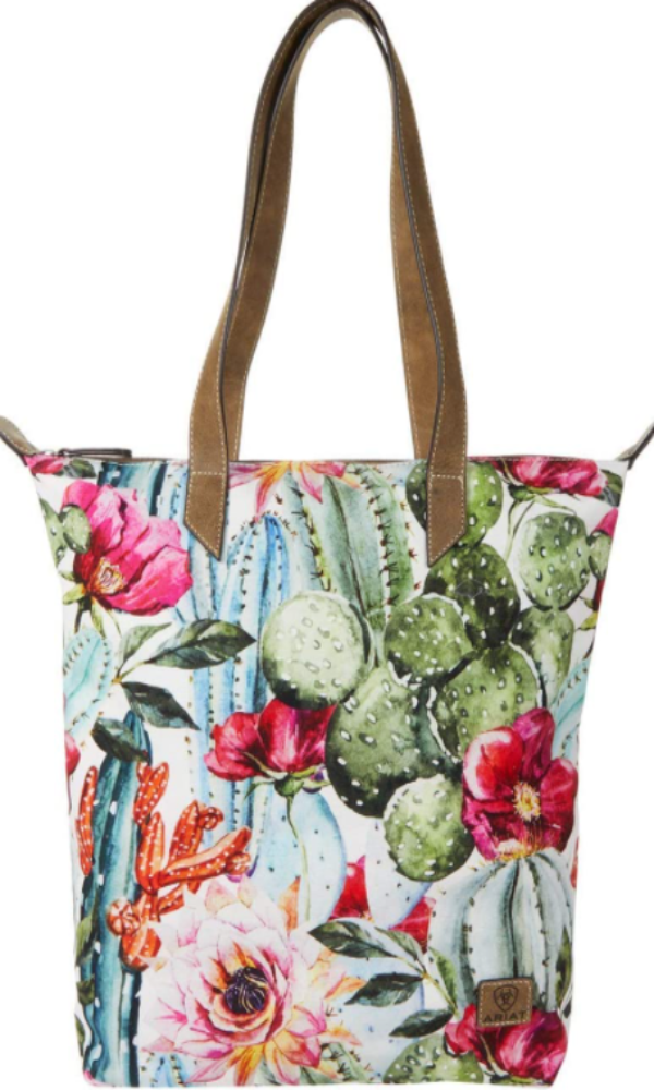 Ariat Multi-Color Cactus Cruiser Tote