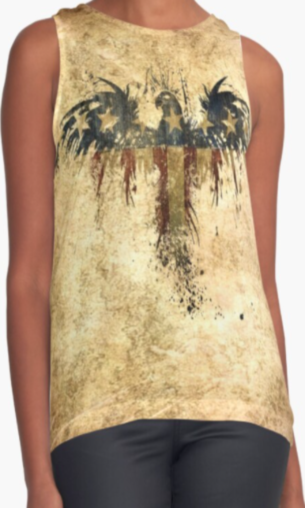 Cowgirl Kim Independence Sleeveless Top