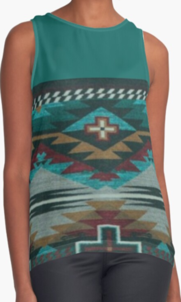 Cowgirl Kim Durango Sleeveless Top