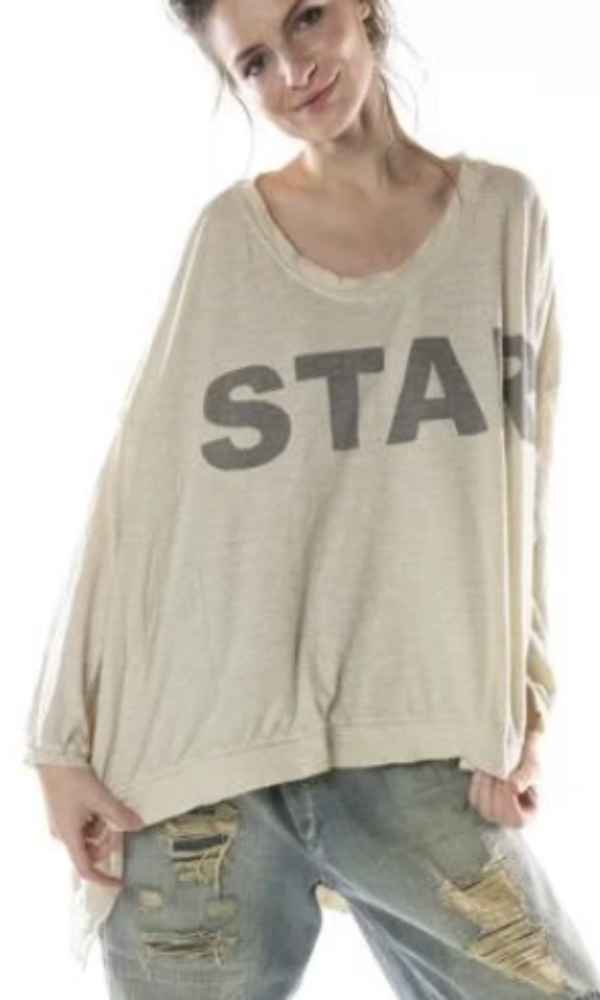 Magnolia Pearl Top 760 Bold Star Francis Pullover - Moonlighrt